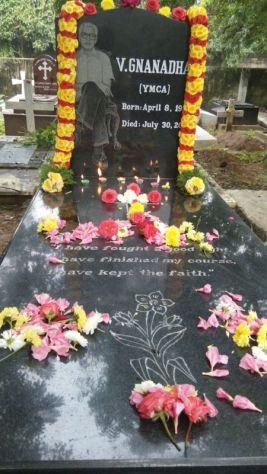 Dad's tomb