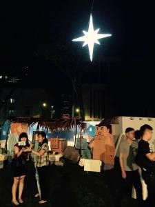 St Andrews nativity scene