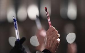 Charlie-Hebdo-pens The Telegraph