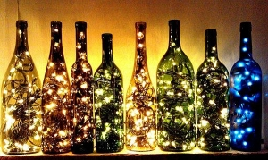 Just-combine-a-few-old-wine-bottles-with-string-lights