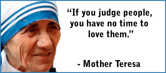 if mother teresa was alive today� top of the word