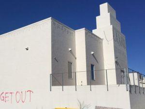 Temple vandalised