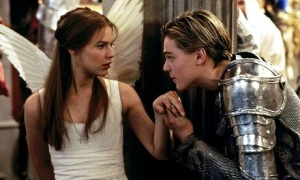 Leonardo Dicaprio and Claire Danes star in Baz Lurhmann's version of Shakespeare's ultimate love story Romeo and Juliet. Photograph: Allstar/20 CENTURY ...