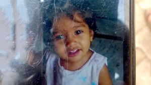 Two-year-old Sonam who was killed in the accident. HT Photo