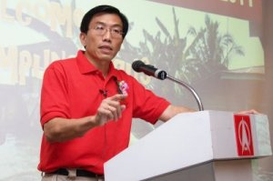 Dr Chee of the Singapore Democratic Party
