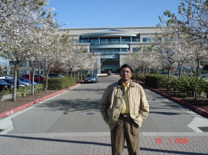Cisco campus in San Jose, on my second visit there in 2006