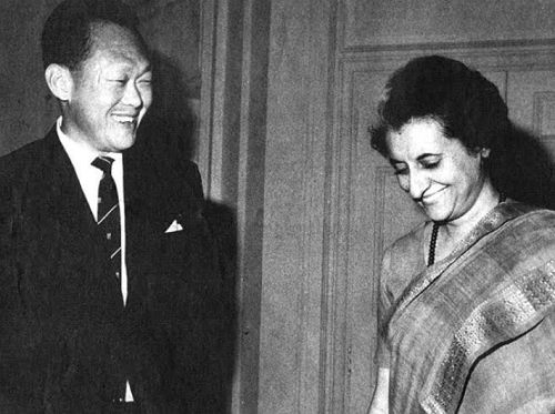 indira_gandhi and Lee