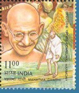 Mahatma-Gandhi- stamp