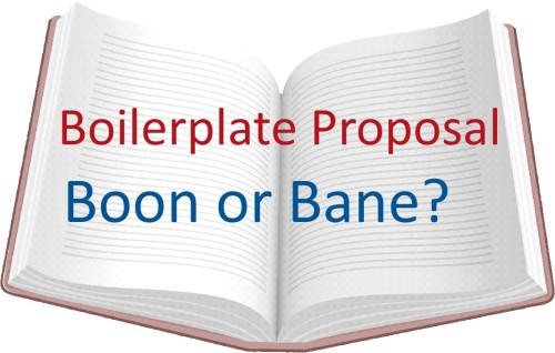 1. Boilerplate Proposal 2