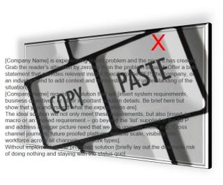 Blind Copy-Paste