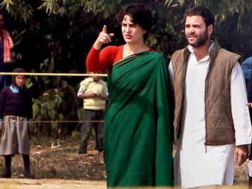 Rahul and Priyanka