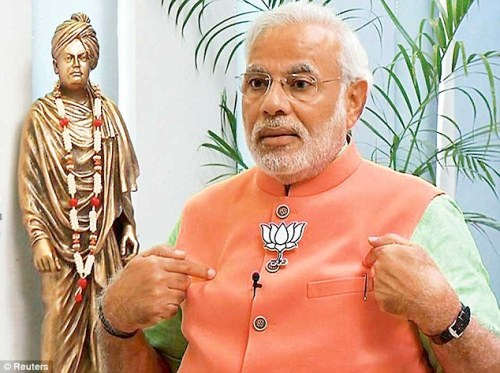 Modi and vivekananda