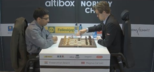 Anand vs Carlsen 2
