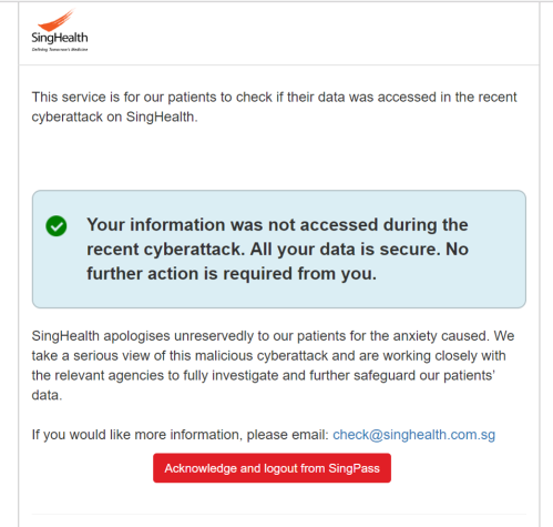 SingHealth data breach