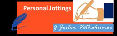 personal jottings